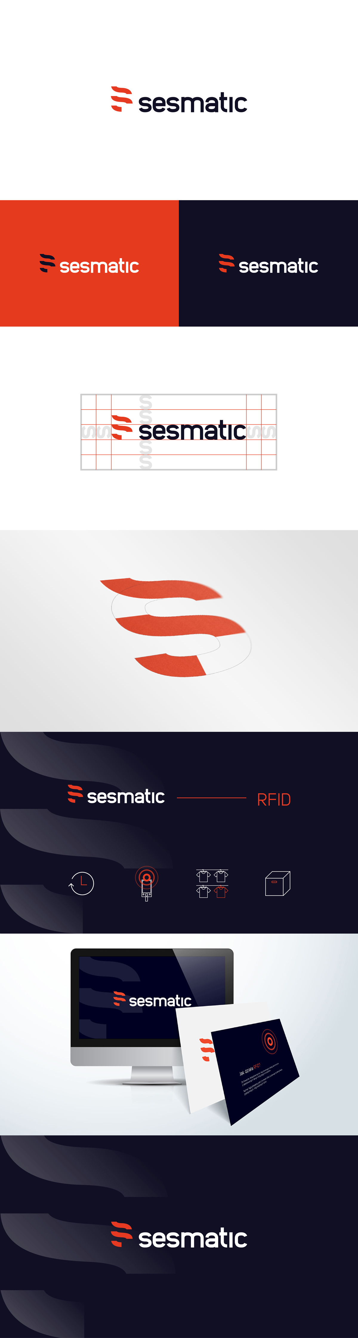 Visual identification for sesmatic - marketing agency You'll